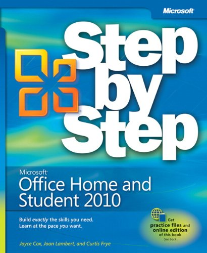 Microsoft Office Home and Student 2010 Step by Step By Joan Lambert