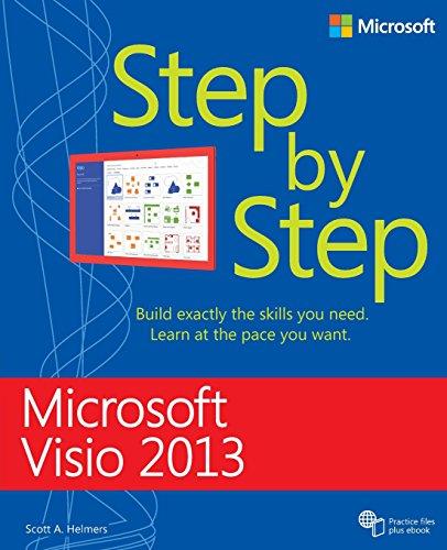 Microsoft Visio 2013 Step By Step (Step by Step (Microsoft)) By Scott A. Helmers