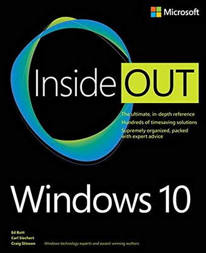 Windows 10 Inside Out By Ed Bott