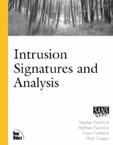 Intrusion Signatures and Analysis By Matt Fearnow