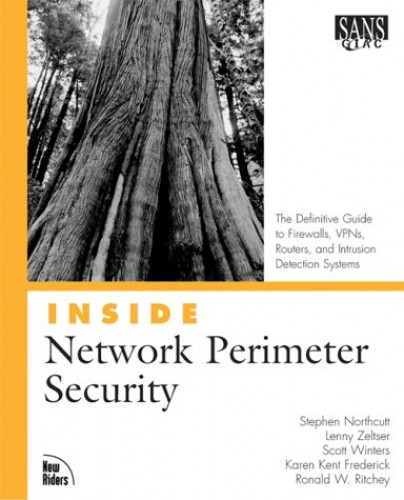 Inside Network Perimeter Security By Stephen Northcutt