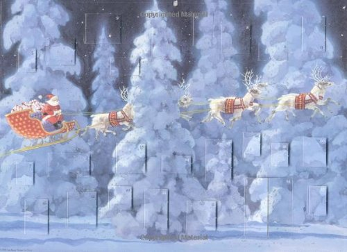Twas the Night Before Christmas: Advent Calendar By Ted Rand