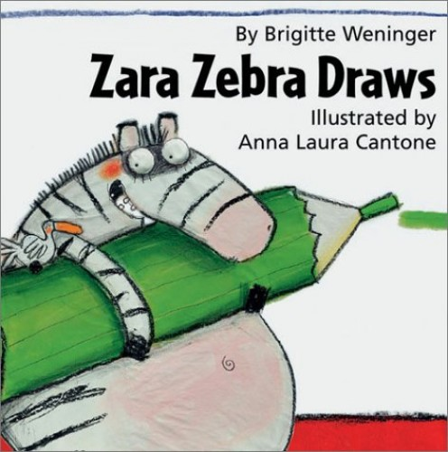 Zara Zebra Draws By Brigitte Weninger