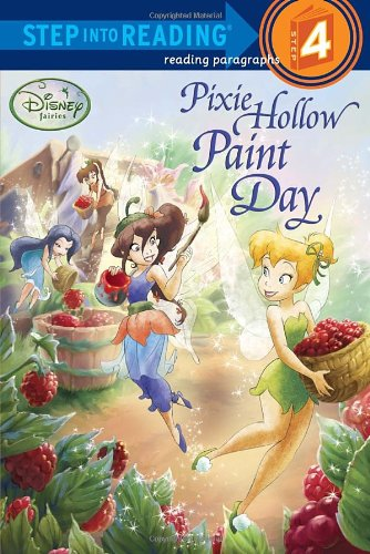 Pixie Hollow Paint Day (Disney Fairies) By Tennant Redbank