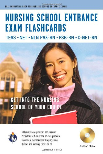 Nursing School Entrance Exams (Teas) Flashcard Book + Online By Editors of Rea