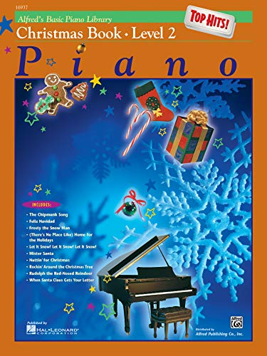 Alfred's Basic Piano Library Top Hits! Christmas, Bk 2 By E L Lancaster