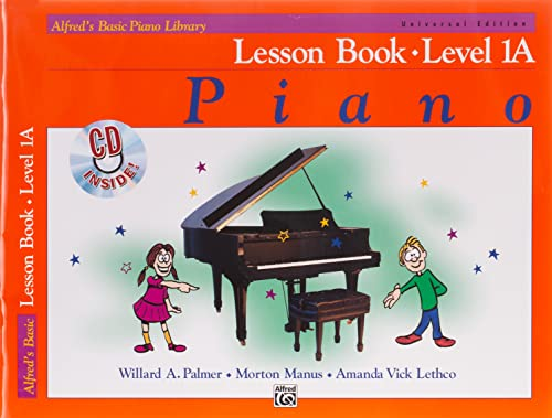 Alfred'S Basic Piano Library Lesson 1a By Willard A Palmer
