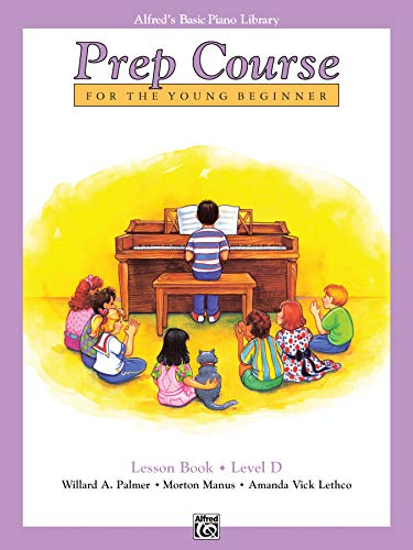 Alfred'S Basic Piano Library Prep Course Lesson D By Willard A Palmer