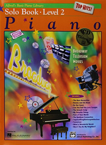 Alfred'S Basic Piano Library Top Hits Solo Book 2 By E L Lancaster