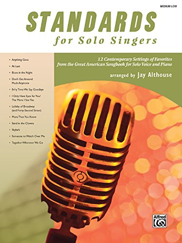 Standards for Solo Singers By Other Jay Althouse