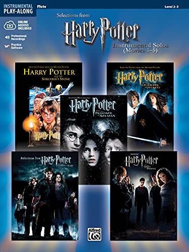 Harry Potter Instrumental Solos (Movies 1-5) By Bill Galliford
