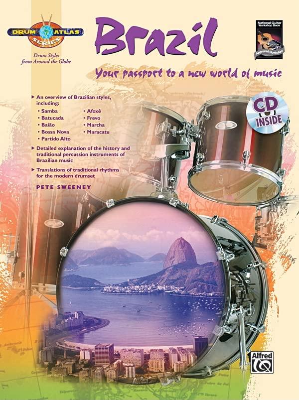 Drum Atlas Brazil By Pete Sweeney