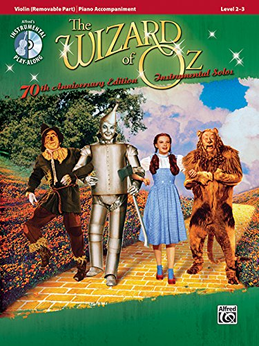 The Wizard of Oz Instrumental Solos: Violin (Removable Part)/Piano Accompaniment By Other E Harburg