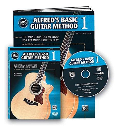 Alfred's Basic Guitar Method, Bk 1 By Morty Manus