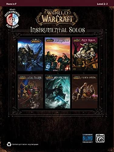 World of Warcraft Instrumental Solos By Alfred Publishing