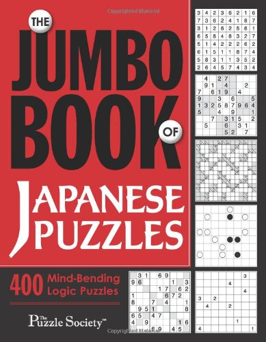 The Jumbo Book of Japanese Puzzles By The Puzzle Society