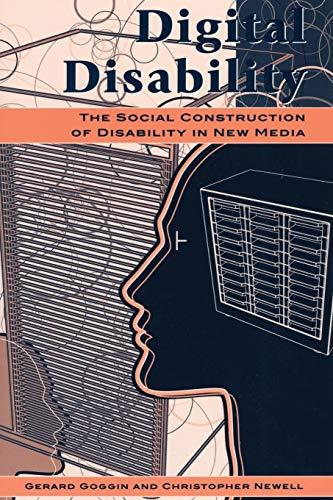 Digital Disability By Gerard Goggin