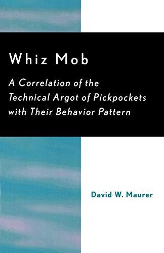 Whiz Mob By David W. Maurer