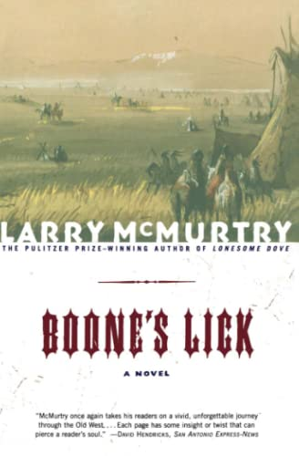 Boone'S Lick By Mcmurtry