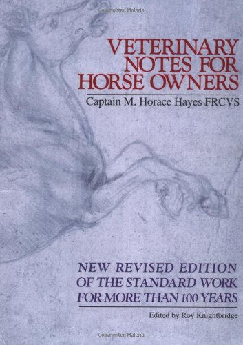 Veterinary Notes for Horse Owners R By Hayes