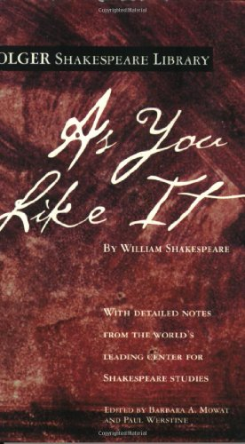 As You Like It par William Shakespeare