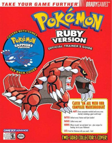 Pokemon® Ruby & Sapphire Official Trainer's Guide By Phillip Marcus