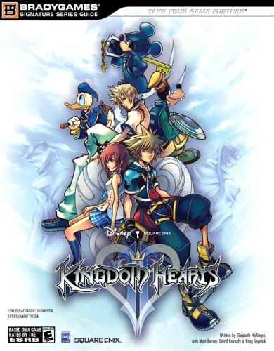 Kingdom Hearts II Official Strategy Guide By BradyGames