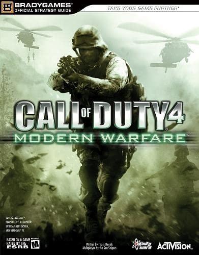 Call of Duty 4: Modern Warfare By BradyGames