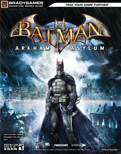 Batman: Arkham Asylum Signature Series Guide By BradyGames