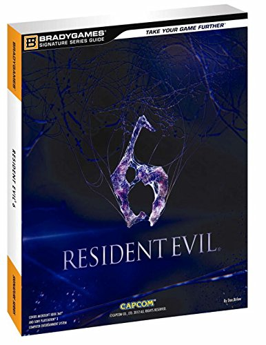 Resident Evil 6 Signature Series Guide By BradyGames