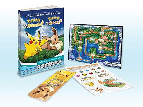 Pokémon Let's Go, Pikachu! & Pokémon Let's Go, Eevee!: Official Trainer's Guide & Pokédex By Pokemon Company International