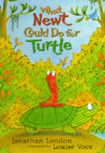 What Newt Could Do for Turtle by Voce Louise Hardback Book The Cheap Fast Free