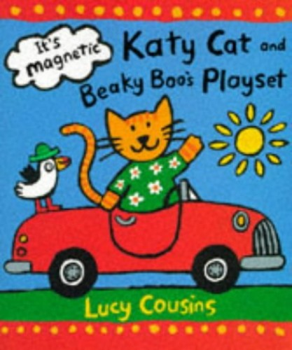 Katy Cat & Beaky Boo Playset By Cousins Lucy