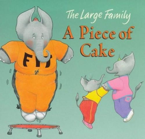Piece Of Cake Board Book By Jill Murphy