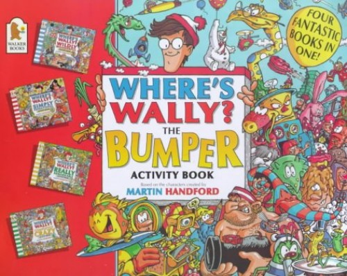 Where's Wally?: Bumper Activity Book by Martin Handford