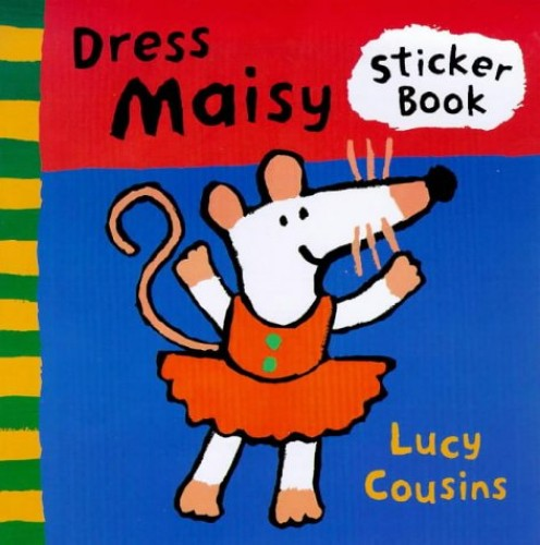 Dress Maisy Sticker Book by Lucy Cousins