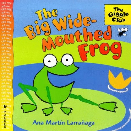 Big Wide-Mouthed Frog By Larranaga Ana Martin