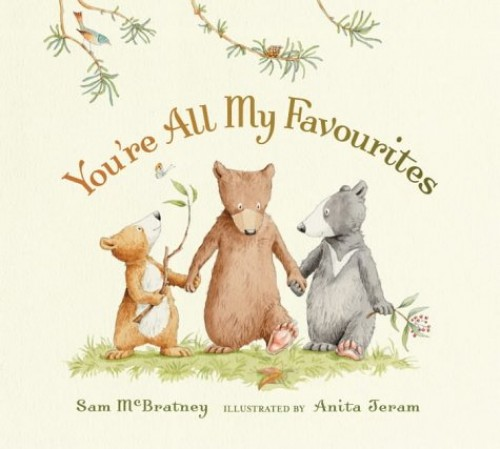 You're All My Favourites By Mcbratney Sam