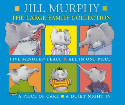 The Large Family Collection By Jill Murphy