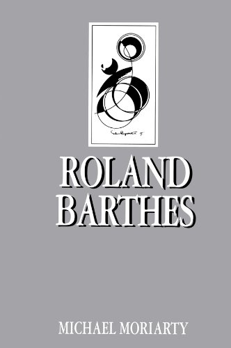Roland Barthes By Michael Moriarty