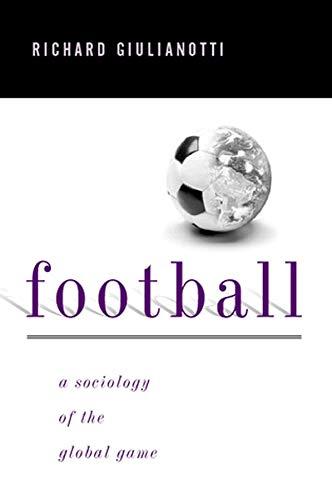 Football By Richard Giulianotti