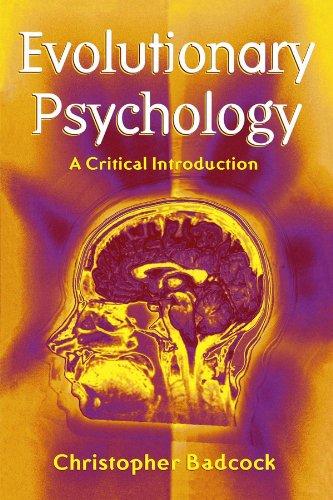Evolutionary Psychology By Christopher Badcock