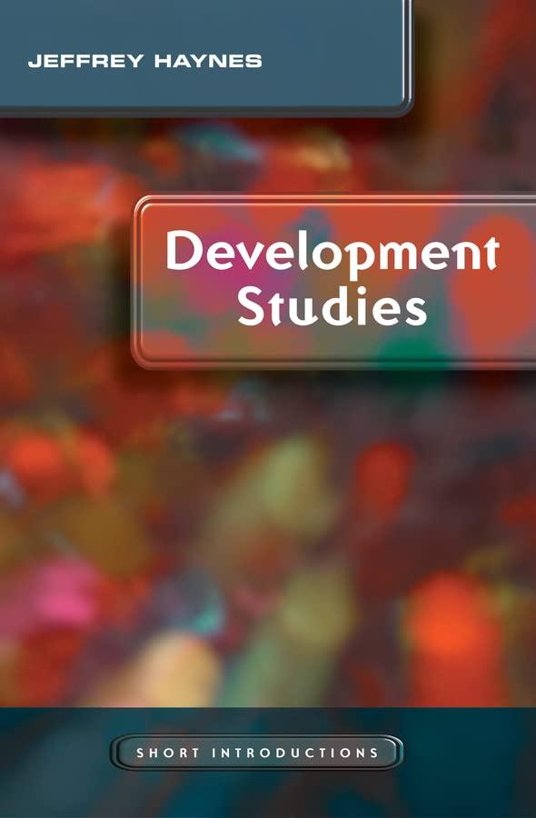 Development Studies By Jeffrey Haynes