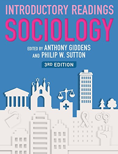 Sociology: Introductory Readings by Anthony Giddens