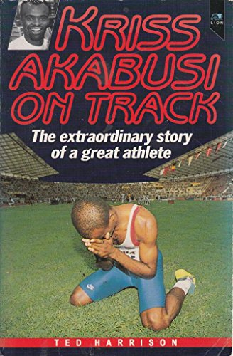 Kriss Akabusi on Track By Ted Harrison