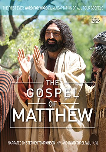 Irwin, Ben - The Gospel of Matthew: The First Ever Word for Word Film Adaptation of All Four Gospels