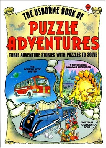 The Usborne Book of Puzzle Adventures: No. 1 By Gaby Waters
