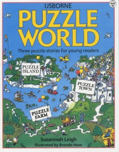 Puzzle World: Island/Farm/Town (Young Puzzles) By Susannah Leigh