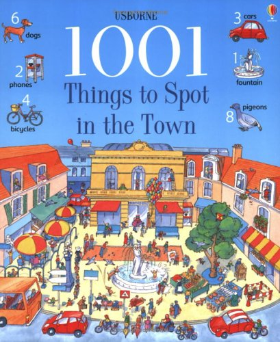 1001 Things to Spot in the Town by Gillian Doherty