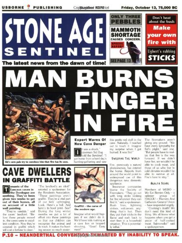 Stone Age Sentinel (Newspaper History) By Paul Dowswell